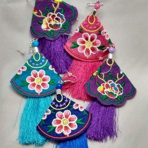 Boho Style Tassle Earring's